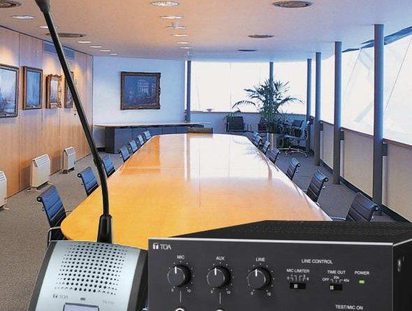 hệ thống âm thanh phòng họp TS-770 TOA