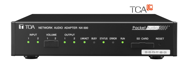 bộ điều hợp âm thanh mạng toa nx300