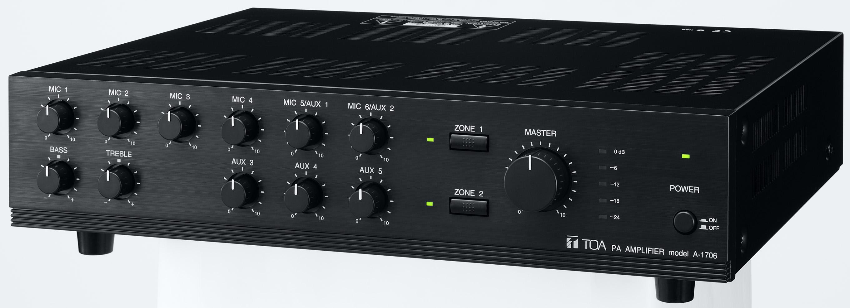 Tăng âm liền mixer dòng A-1700