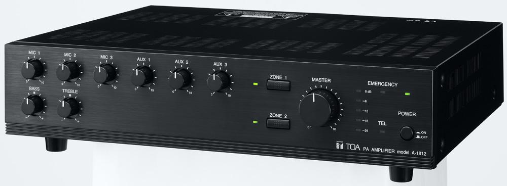 Tăng âm liền mixer Toa A-1812