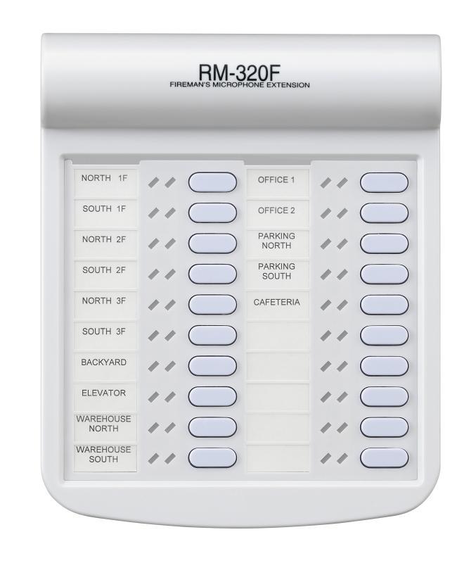 Bộ mở rộng cho micro TOA RM-320F