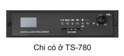 hệ thống âm thanh hội thảo ts-780