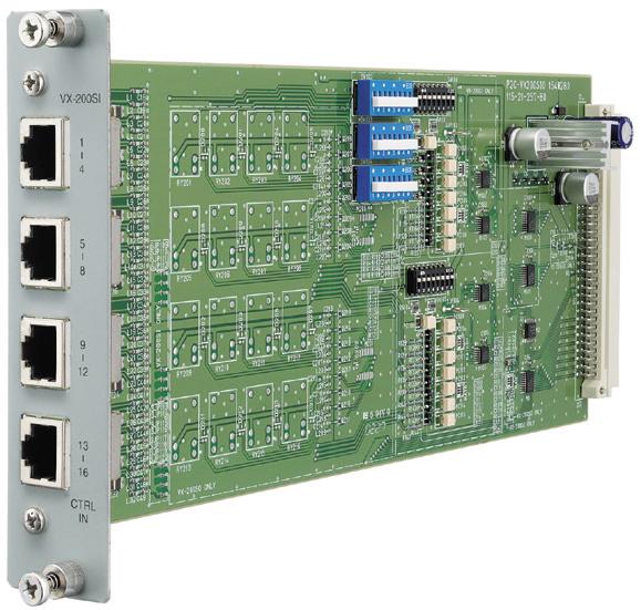 Modul điều khiển đầu vào TOA VX-200SI