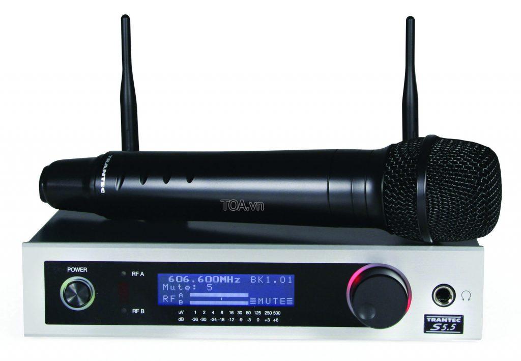 Bộ thu phát micro không dây TRANTEC âm thanh TOA cao cấp