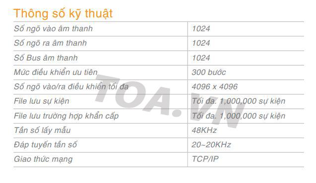 Hệ thống thông báo IP dòng IP-3000