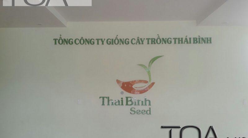 phòng họp : công ty giống cây trồng Thái Bình