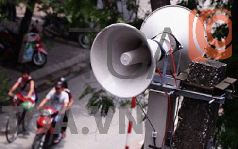 Hệ thống âm thanh phường xã