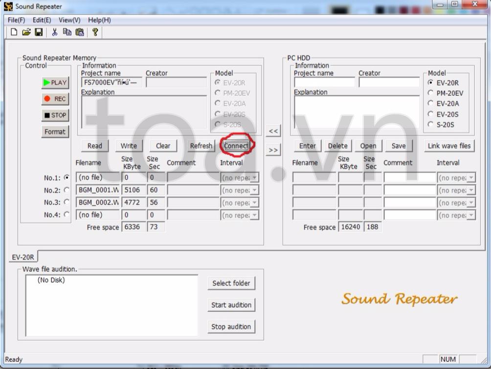 Hệ thống âm thanh công cộng thông báo khẩn cấp dòng FV-200