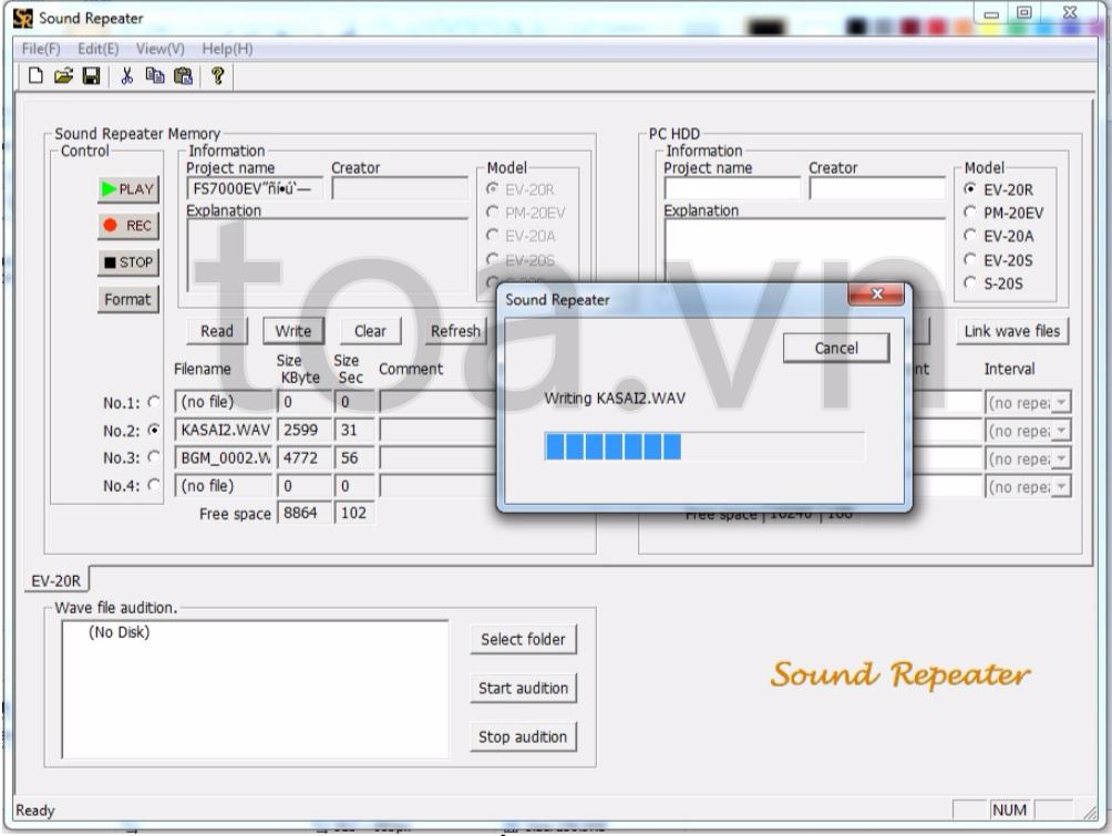 Hệ thống FV-200 - âm thanh TOA