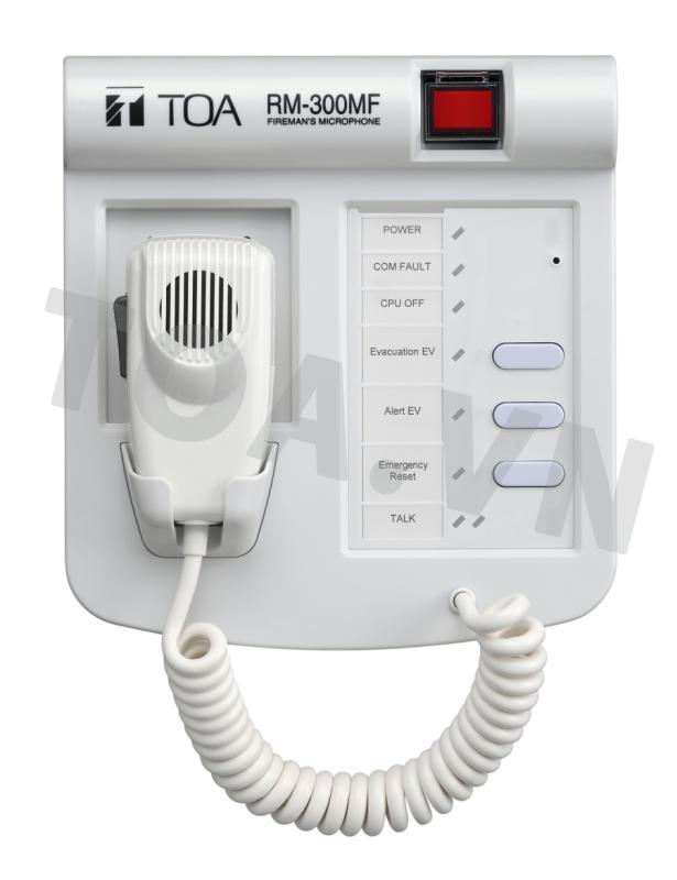 Micro thông báo TOA RM-300MF