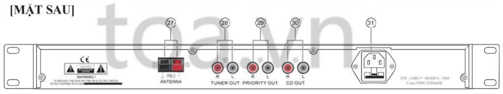 TOA CD-2011R AS