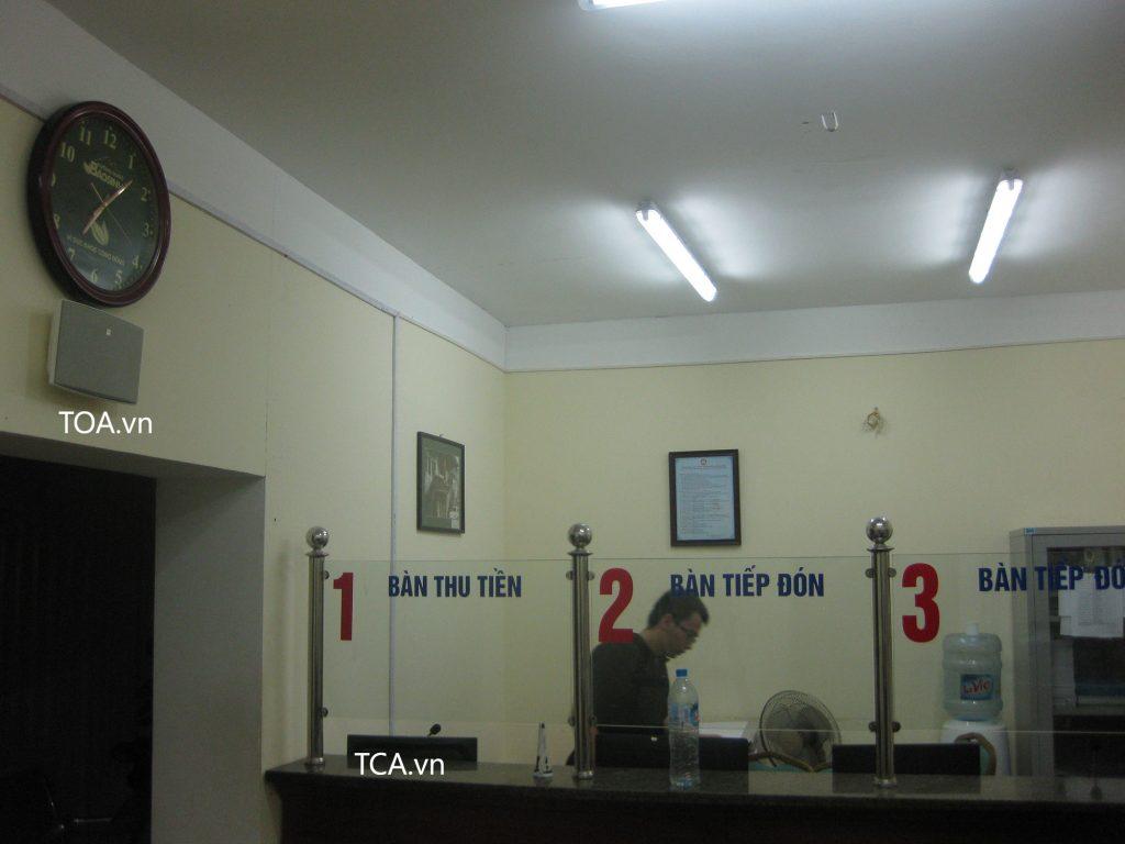 Hệ thống âm thanh thông báo Bệnh viện ĐH Y Hà Nội