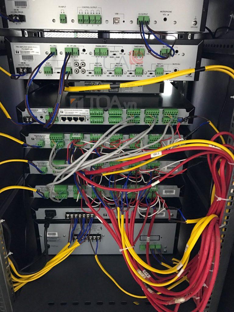 Hệ thống âm thanh thông báo FV-200 cho tòa nhà