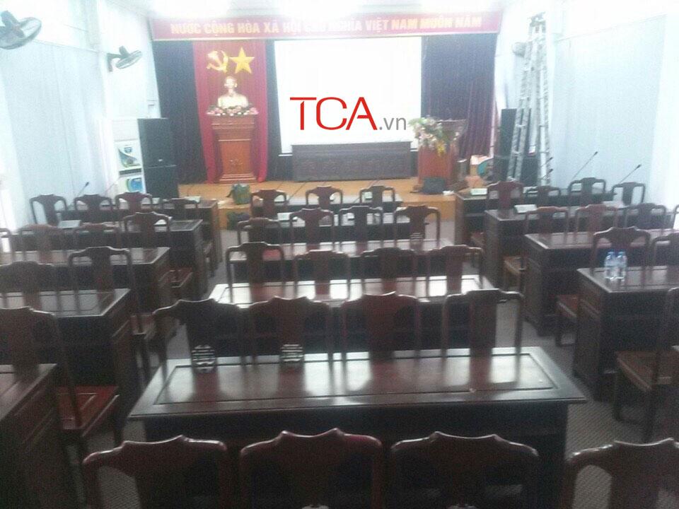 Âm thanh phòng họp: hội thảo, hội nghị, hội trường